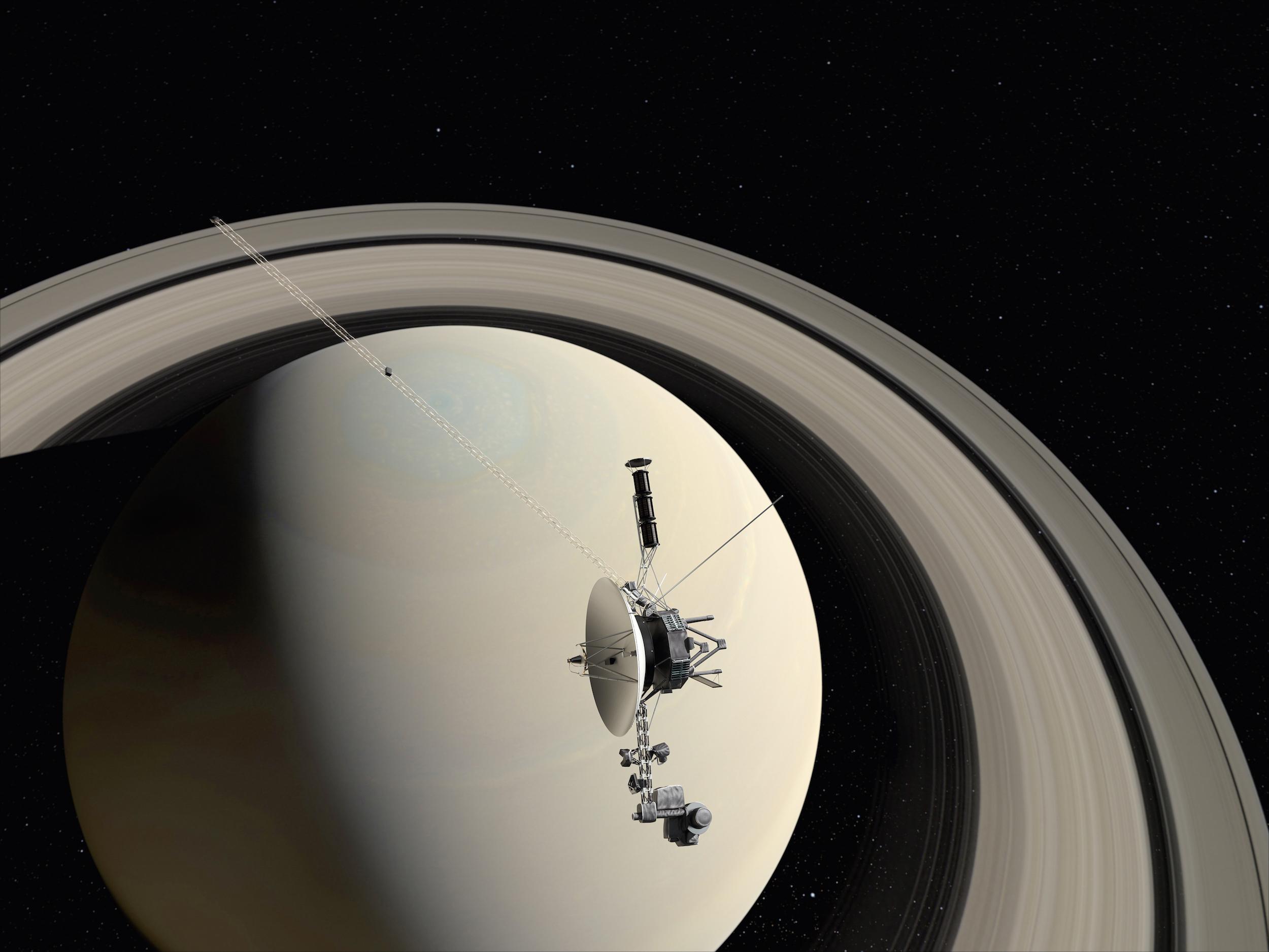 Фотографии со спутника вояджер